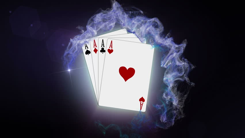 Poker Cards in Red Particle, Stock Footage Video (100% Royalty-free)  2289254 | Shutterstock