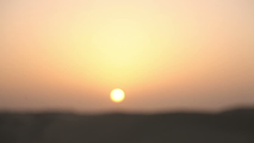 Hand and sand in the desert at sunset | Shutterstock HD Video #2289545