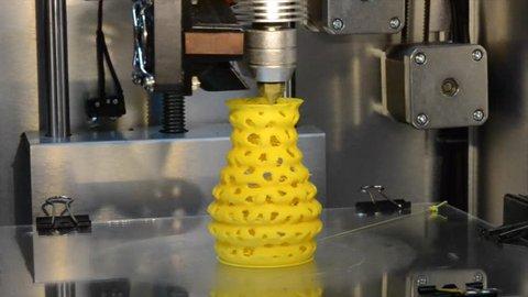 Timelapse 3d Printer Printing Objects Videos De Stock 100 Libres De Droit 22710844 Shutterstock