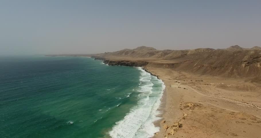 Turtle Beach Ras al Jinz Oman Coastline
