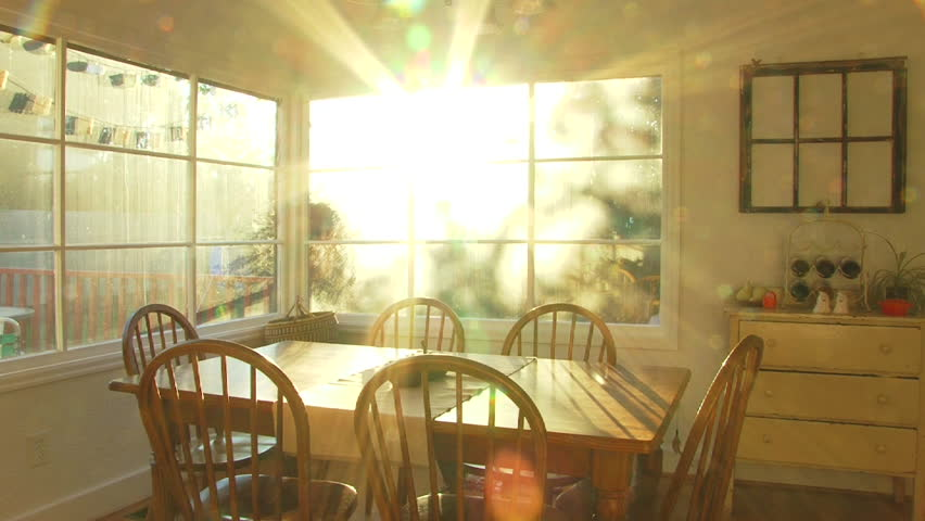 Bright Sunset Shines Through Window Stock Footage Video (100% Royalty-free)  2301548 | Shutterstock