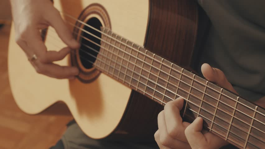 Hands of Guitarist Playing a Stock Footage Video (100% Royalty-free)  23032207 | Shutterstock