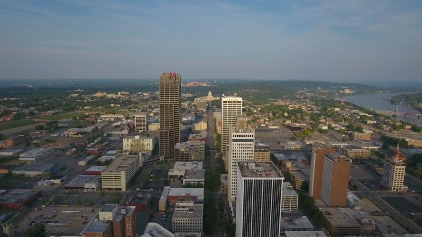 Aerial Arkansas Little Rock 4K Aerial video of Little Rock Arkansas.