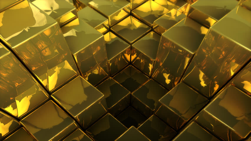 Abstract gold - 3D Animation