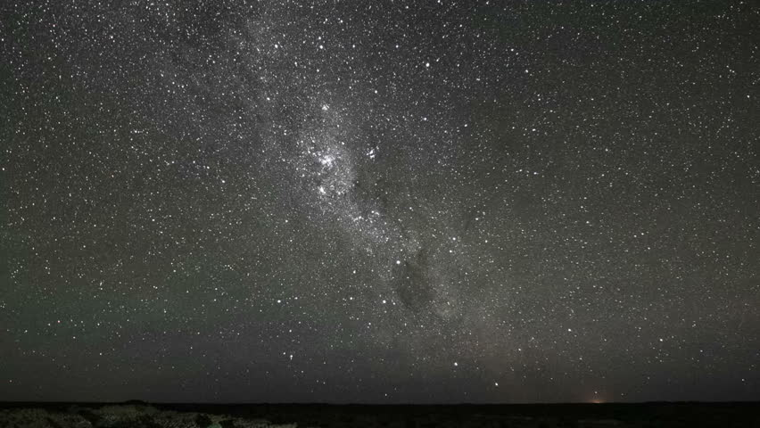Milky Way night sky star timelapse from desert | Shutterstock HD Video #23149015