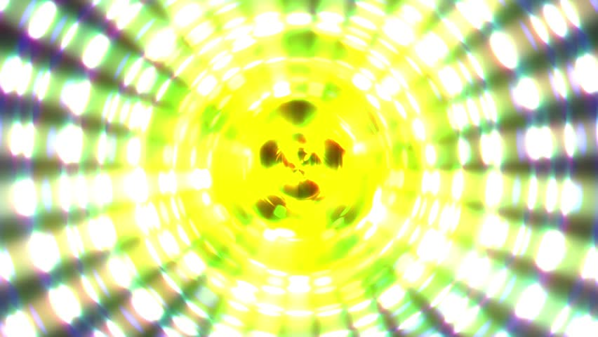 Concentric Glow Lights Pentagram Bright Pulsing VJ Motion Background Loop | Shutterstock HD Video #23154094