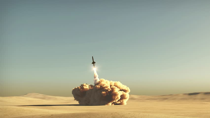 rocket start from desert