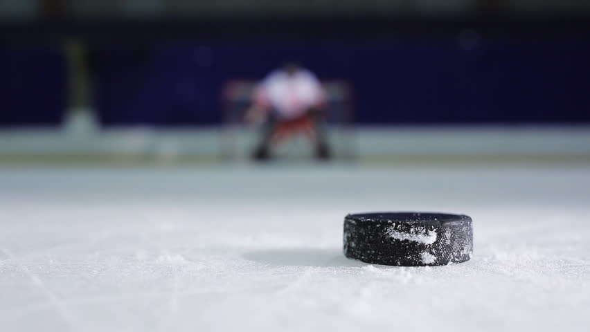 Ice Hockey Player Holding a Stock Footage Video (100% Royalty-free) 23207317 | Shutterstock