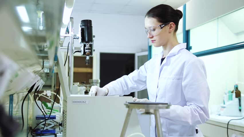 Research using laboratory centrifuge | Shutterstock HD Video #23231494