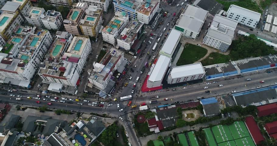 Phuket Patong thailand, aerial | Shutterstock HD Video #23240962