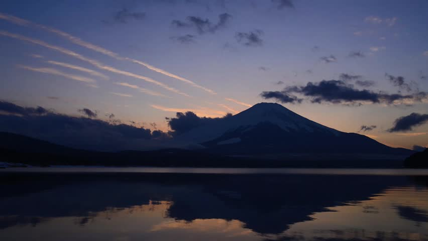 Mt.fuji from lake yamanaka | Shutterstock HD Video #23260177