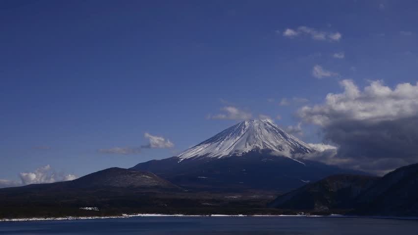 Mt.fuji from lake motosu | Shutterstock HD Video #23260192