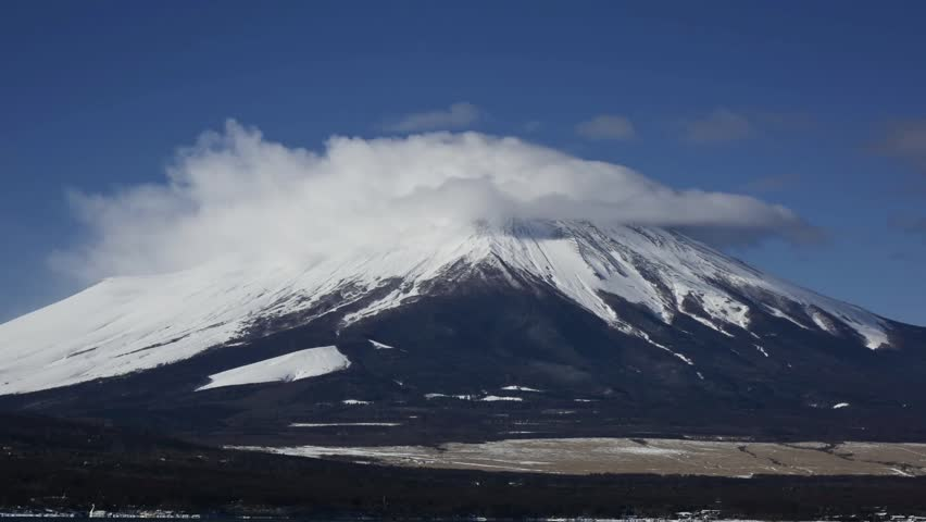Mt.fuji from lake yamanaka | Shutterstock HD Video #23260543