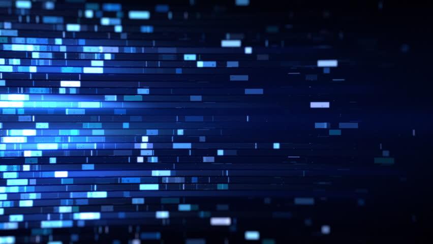 Digital DNA research Looping Background Loop