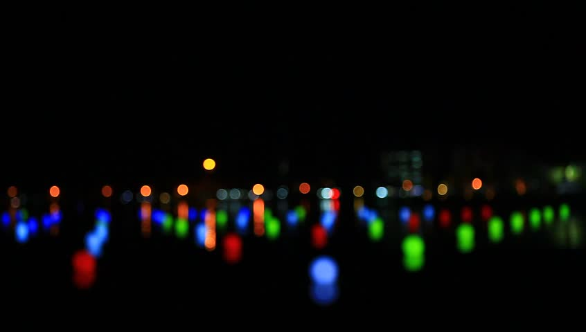 Beautiful night lights, bokeh #23307493