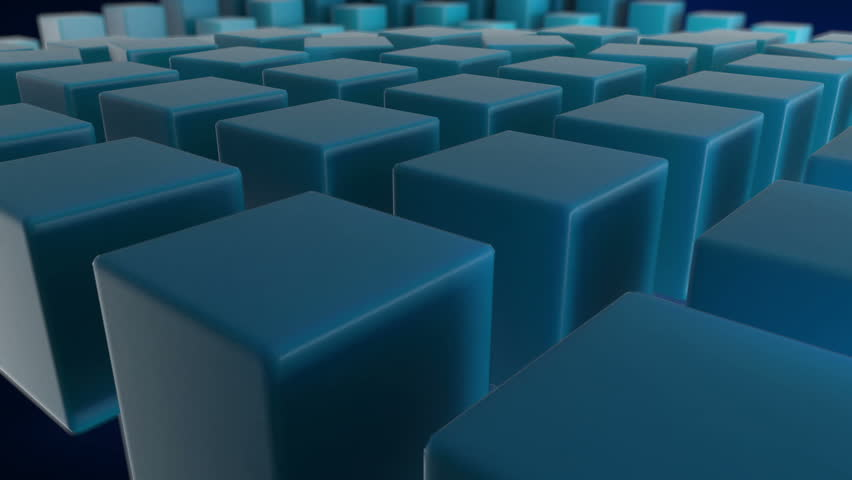 3D abstract background seamless loop #2333747