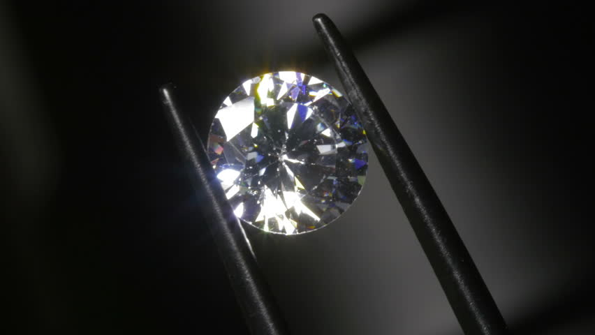Round Cut Diamond Inspected for Chips and Damage 4k | Shutterstock HD Video #23383228