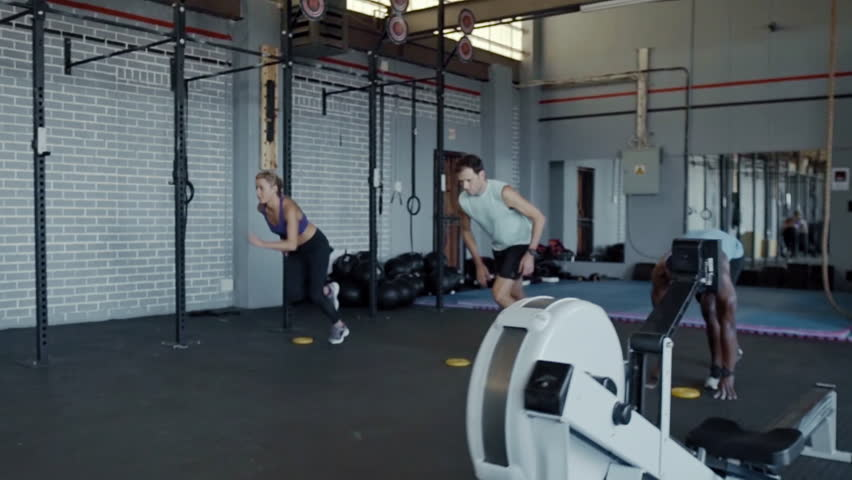 Gym workout fitness routine for speed and agility | Shutterstock HD Video #23393008