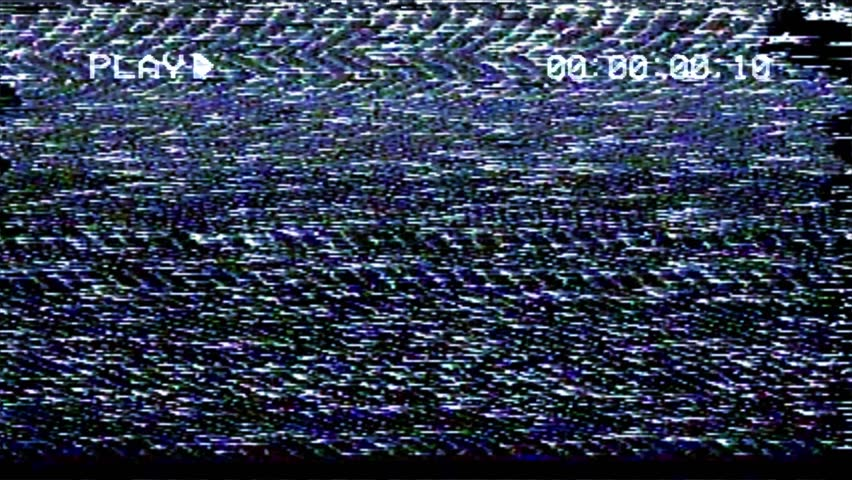 A flickering, analog TV signal with bad interference, static, and color bars.  | Shutterstock HD Video #23472946