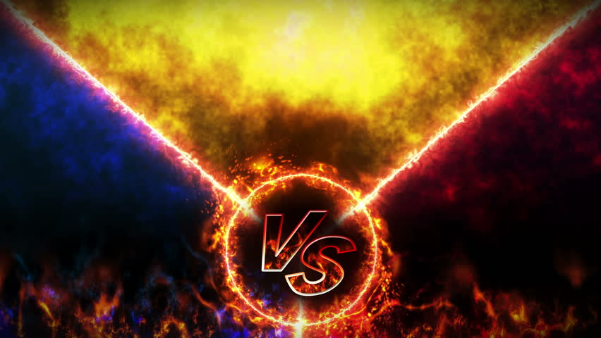 Versus Fight Backgrounds Vs On Stock Footage Video 100