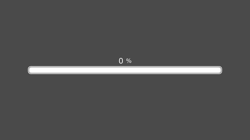 Green Progress Bar Animated