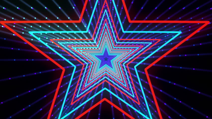 Discot Show Star Background is seamless motion graphics for music videos, events and fashion show, stage LED screens, broadcast TV, competitions, festivals and night clubs. Royalty-Free Stock Footage #23725606