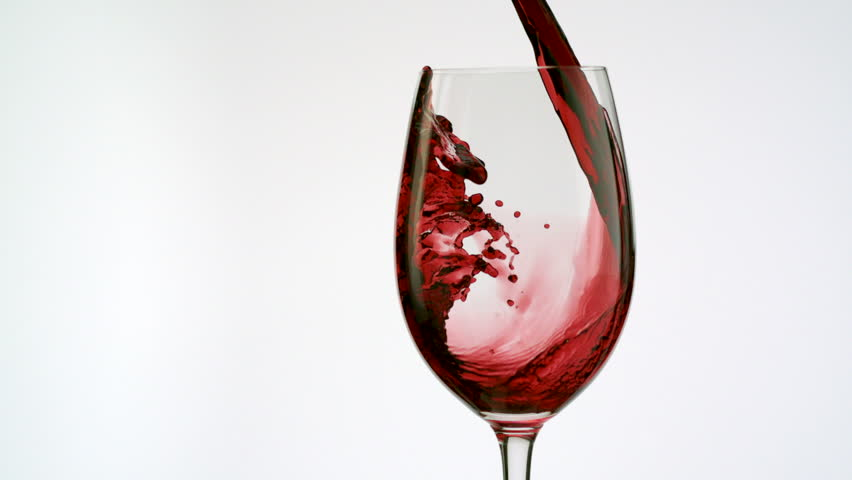 Red Wine Poured Into Glass Stock Footage Video 100 Royalty Free 2373644 Shutterstock