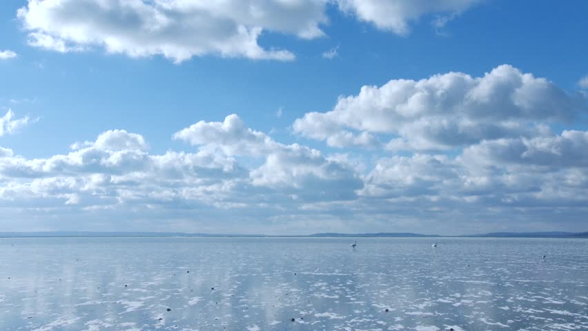 4K Frozen Lake on a Freezing and Sunny Winter Day | Shutterstock HD Video #23744452