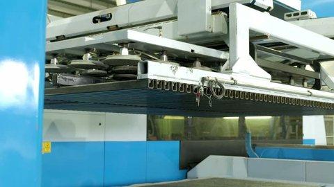 Industrial metal press