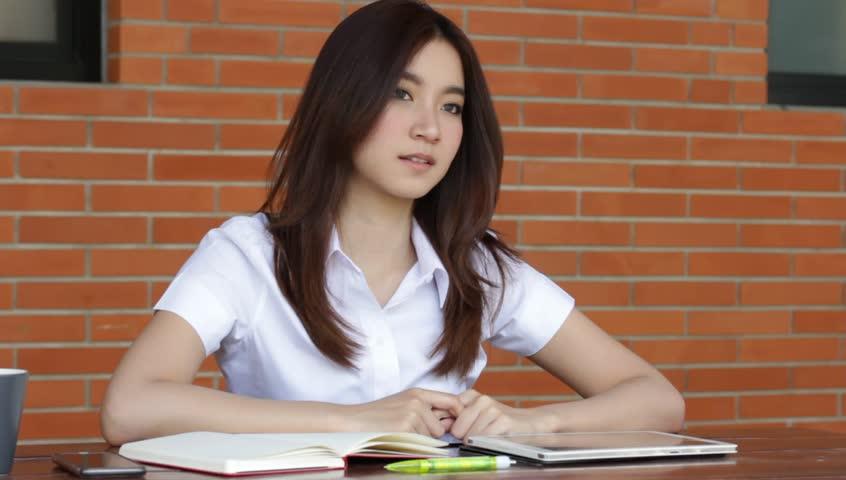Girls thai college Thailand Freelance