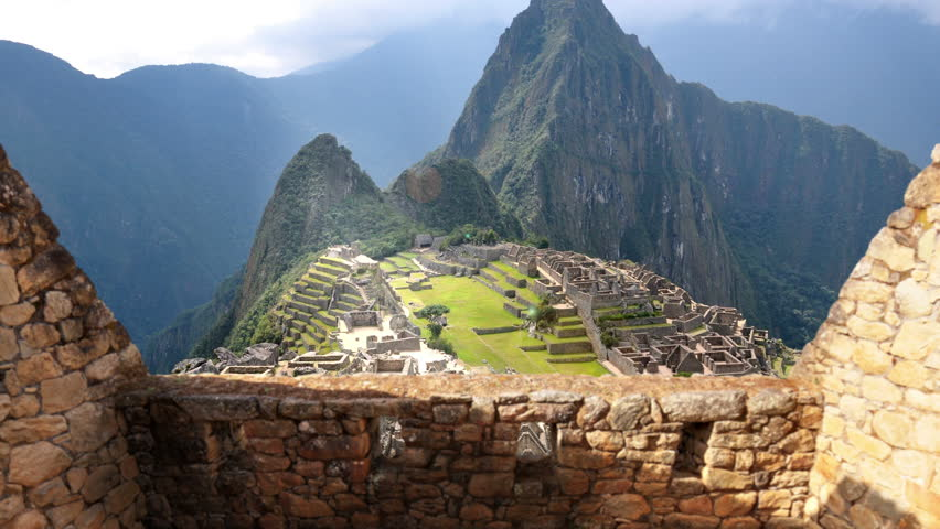 Machu Picchu - 4K View From The Wall