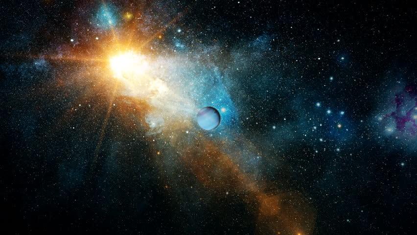Realistic beautiful planet Neptune from deep space   Shutterstock HD Video #23981038