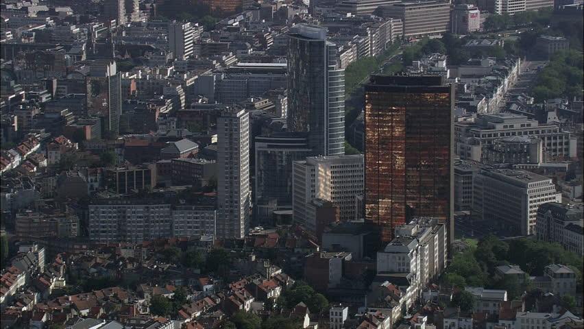 Brussels Modern Buildings | Shutterstock HD Video #23999140