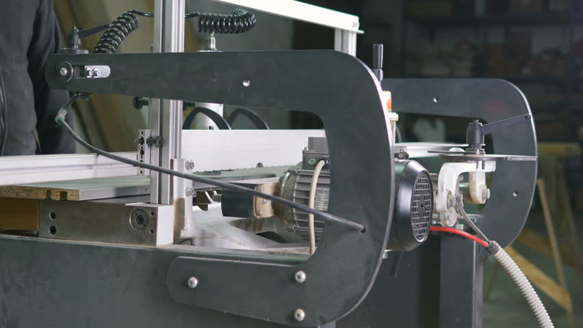 Drills of an industrial wood drilling machine