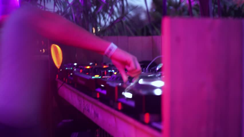 DJ at party | Shutterstock HD Video #24077932
