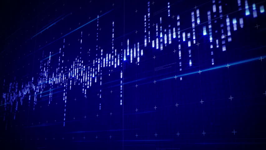 Futuristic HUD infographic. Business stock market charts and graphics. Digital audio spectrum waveform equalizers.Good intro and business and marketing opener. Royalty-Free Stock Footage #24080482