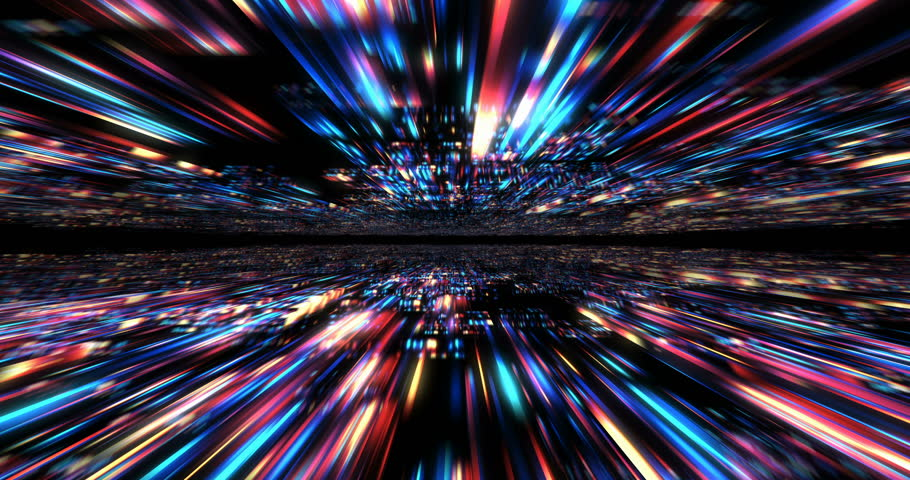 3D Futuristic abstract background. Motion graphic for abstract data center, server, internet, speed.  Loop at 4K resolution. | Shutterstock HD Video #24201646