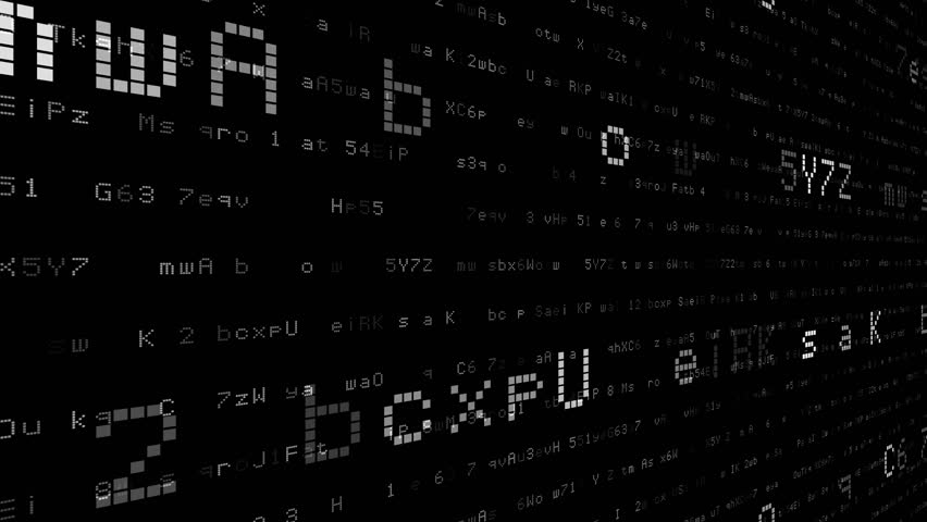 Digital world data space number text. | Shutterstock HD Video #24202750