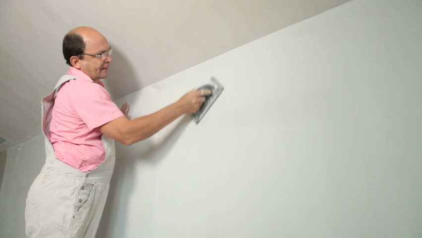 Sanding Plaster   Shutterstock HD Video #2425496