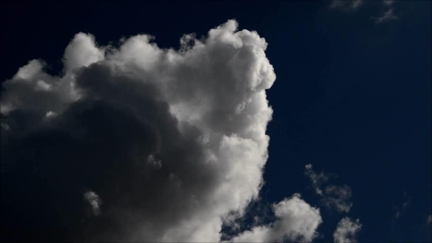 Summer Clouds in Berlin, Germany | Shutterstock HD Video #24270257