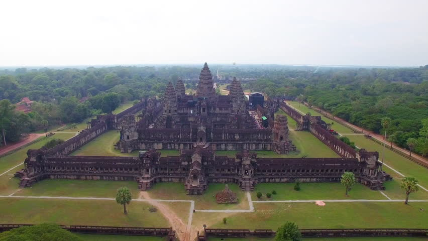 Angkor Wat temple of Cambodia, Siem Reap | Shutterstock HD Video #24291992