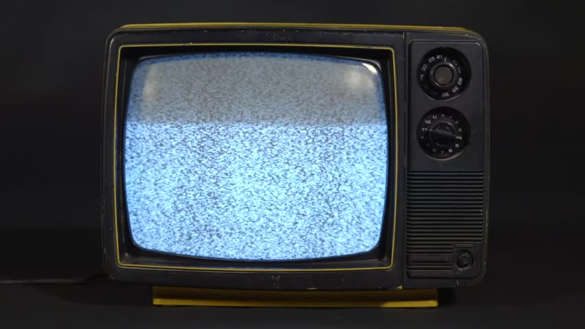 Vintage television with noise and sound | Shutterstock HD Video #24323765
