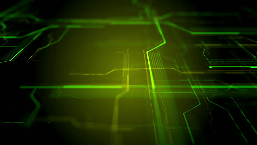 Futuristic HUD display, virtual touch user interface in flat design. Moving lines, abstract HUD user interface. Abstract background with animated shapes of spline. Loop video. Camera moving in left. | Shutterstock HD Video #24328484