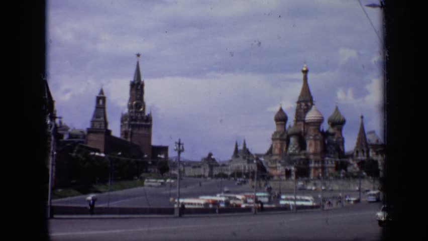 MOSCOW RUSSIA 1971: images taken of well known landmarks around world   Shutterstock HD Video #24418979