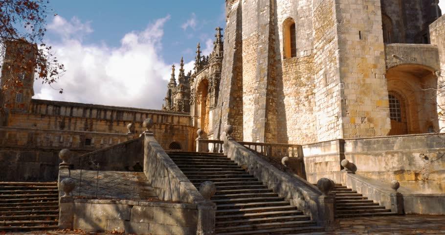 Convento De Cristo, Portugal | Shutterstock HD Video #24427652