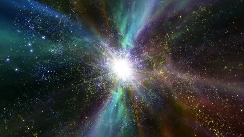 Space 2051: Traveling through star fields and galaxies in deep space (Loop). | Shutterstock HD Video #24453188