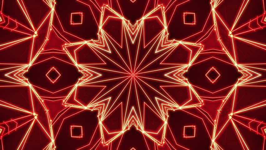 Polygonal abstract surface. Semless loop 3D render | Shutterstock HD Video #24472100