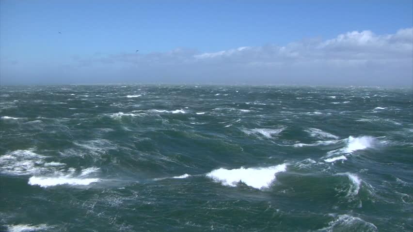 Stormy seas Wide | Shutterstock HD Video #24489965