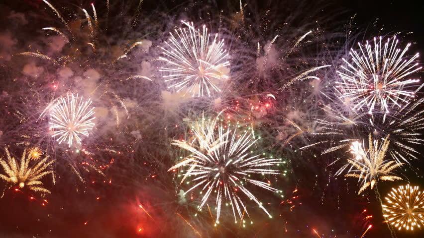 Amazing fireworks in 4K | Shutterstock HD Video #24503225
