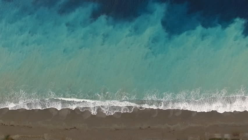 top view of the surf